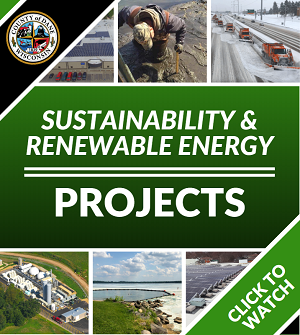 Watch a video on our renewable energy projects